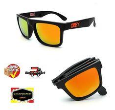 6b3259619a Plegable KEN BLOCK Gafas marca diseñador Gafas Sol reflectante cuadrados  Spied
