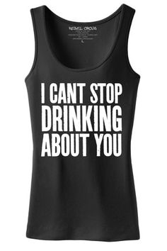 Women's Drinking About You Tank Top
