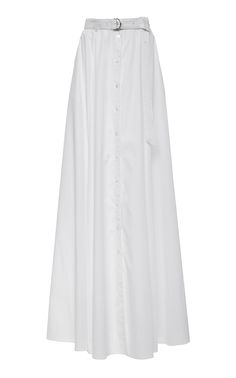Click Product to Zoom Adam Selman Long Shirt Skirt White €594
