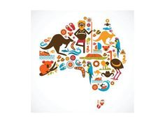 I found this cool kahoot called Australia & Oceania. Play it and check out more … - Australia (Oceania) Hello Australia, Moving To Australia, Australia Map, Sydney Australia, Australia Crafts, Aboriginal Tattoo, Aboriginal Art Symbols, Aboriginal Flag, Aboriginal Map Of Australia