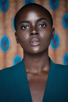 philomena kwao | dark skin. short natural hair. big chop. dark skin woman. plus size and natural. curvy and natural. plus size naturals. curvy naturals.