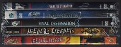 FINAL DESTINATION 1, 2, 3-JEEPERS CREEPERS 1, 2