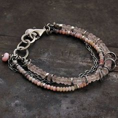 SALE 10 % off use coupon code CIJ10 pink opal by ewalompe on Etsy