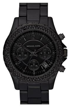 black on black | Michael Kors