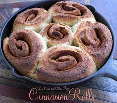 Low Carb Cinnamon Rolls