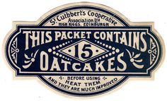Vintage label - Lovely old fashioned font styles with a classy French navy tone