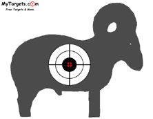 Free printable targets.