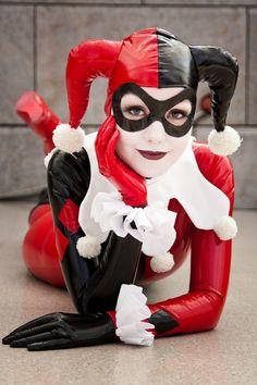 Harley Quinn cos-play