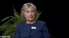 New trendy GIF/ Giphy. hillary clinton funny or die judging you between two ferns. Let like/ repin/ follow @cutephonecases