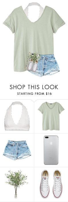 """""""running in circles"""" by cait926 on Polyvore featuring Free People, MANGO, NDI, Converse and Iosselliani"""