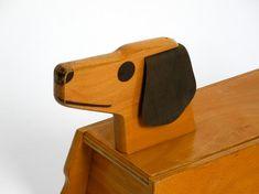 Original années 1960 runner slide véhicule bois chien en   Etsy Plywood, 1960s, Vintage Items, The Originals, Etsy, Design, Home Decor, Dog, Woodwind Instrument