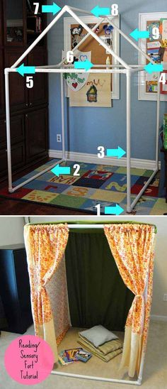 15. It would be perfect reading nook or play house for kids.