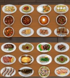 Inedible Edibles Part 2 Smorgasbord by Madhox at Mod The Sims