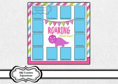 Two Matching Dinosaur Digital Scrapbook by SJCreativeExpression