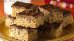 Rice Krispies chocolate scotcheroos