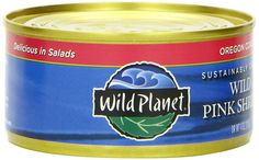 Wild Planet Wild Pink Shrimp, No Phospates, 4-Ounce Cans (Pack of 12) * Special product just for you. : Fresh Groceries