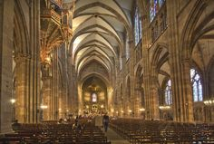 catedral de estrasburgo interior - Buscar con Google