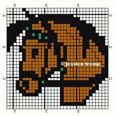 horse patterns for Perler beads Bead Loom Patterns, Perler Patterns, Beading Patterns, Cross Stitch Patterns, Quilt Patterns, Hama Beads, Fuse Beads, Cross Stitch Horse, Perler Bead Templates