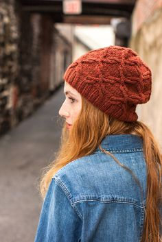 Such a cute hat & cowl pattern from the new Wool People 4 - Scrollwork