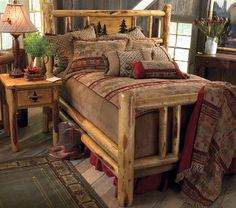 We Custom Build Mountain, Log, Country and Western Furniture. Our furniture is Made in the USA!