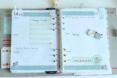 Filofax-Layout-and-Decoration on the Claireabellemakes Blog