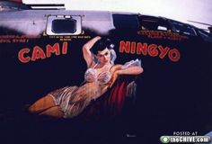 Bomber Girl Nose Art - Bing Images