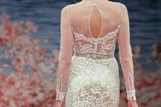 Claire Pettibone Modern Romantic Embroidered Wedding Dress