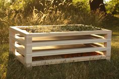 Pinewood Herb Dryer Rack System (handmade in Slovenia) Air drying is an ancient effective method of preserving crops, which intensifies Vegetable Storage, Drying Racks, Racking System, Drying Herbs, Wooden Crafts, Kraut, Garden Planning, Dryer, Preserves