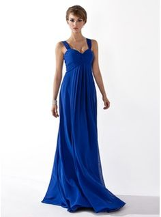 Empire Sweetheart Floor-Length Chiffon Holiday Dress With Ruffle. Going formal this New Years Eve? @DressFirst has the hottest selection of beautiful holiday dresses at incredibly affordable prices!  #DressFirst #Holiday #Sponsored www.dressfirst.co...