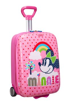 Disney Wonder - Minnie Mouse Hard Upright #Disney #Samsonite #MinnieMouse #Minnie #Mouse #Travel #Kids #School #Schoolbag #MySamsonite #ByYourSide #Flowers