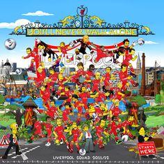 Liverpool FC 11-12 by SimpsonsCameos.deviantart.com on @deviantART