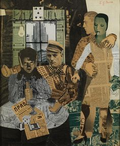 Edward Burra, Composition Collage, 1929, collage and ink on paper, 47.63 x 39.37 cm, framed: 58.42 x 49.53 x 3.81 cm, Private collection.