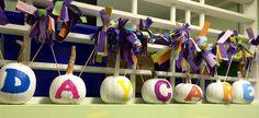 Halloween Crafts , pumpkin cheerleaders