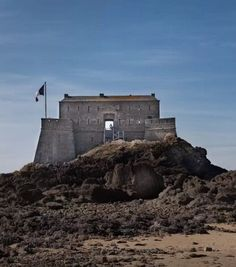 You can rent this castle in France through Airbnb. Click for details and to see more stunning rental spots.