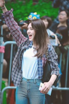 Tongue, straw and other stuff Kpop Outfits, Celebrity Outfits, Girl Outfits, Cute Outfits, Kpop Fashion, Korean Fashion, Ullzang Boys, Jeon Somi, Cute Girl Poses