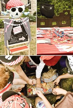 Amazing Vintage Pirate Party + Creative Activities! // Hostess with the Mostess®
