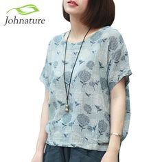 Johnature Japanese Style Vintage Shirt | Furrple
