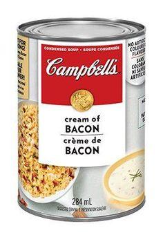 Soupe condensée Crème de bacon, de CAMPBELL'S®