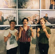 Imitating the vamps boys behind them😂 have I pinned this before?