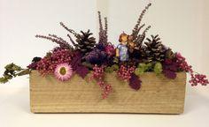 Gartendekoration - Herbstliche Tischdekoration - ein Designerstück von…