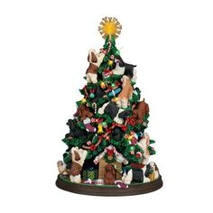 Cocker Spaniel Christmas Tree - The Danbury Mint