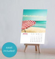 2015 calendar photography beach nautical desk by mylittlepixels