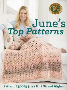 Check out June's hottest patterns! Did you start any of these projects last month?