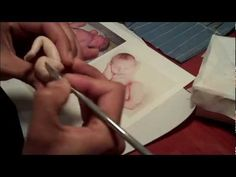 attaching legs to a OOAK Polymer clay baby - YouTube