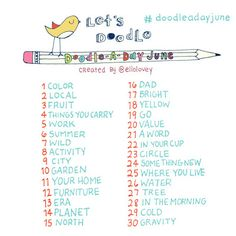 Rhi-Creations: Search results for Doodle a day June