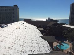 Beautiful ocean view -  commercial roofing services in Myrtle Beach SC.