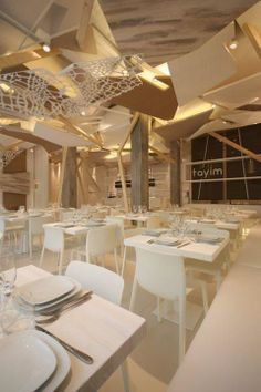 Restaurant Tayim, Rome, Italy designed by Andrea Lupacchini