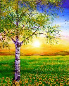 Sunflower Summer by AnnMarieBone.deviantart.com