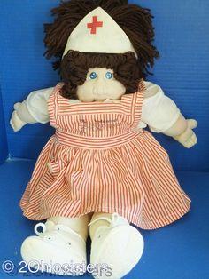 Vintage 1979 Soft Sculpture Cabbage Patch Kids Xavier Roberts Doll