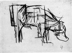 Van Doesburg: koe